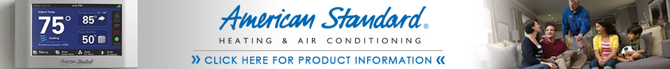 American Standard Air Conditioning repair in Luxemburg WI.